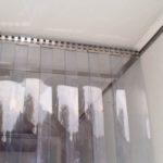 Морозостойкая ПВХ завеса