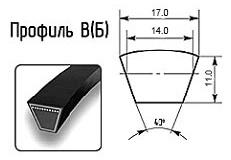 Ремень клиновой В(Б)
