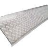 Коврики бытовые резиновые 750х250 ступенька  серый сортовая